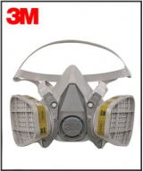 3M Respirator - 6000 SERIES w/Organic Vapor Cartridge