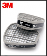 3M Respirator - 6001 Organic Vapor Cartridge Pair