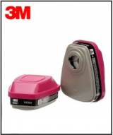 3M Respirator - 60921 Organic Vapor Cartridges w/P100 Particulate Filter (Pair)