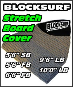 Block Surf Stretch Board Surfboard Covers