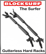 BlockSurf Surfer Hard Surfboard Rack