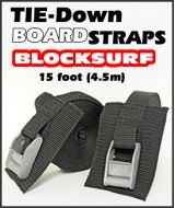 BlockSurf Surfboard Tie Down Straps