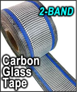 Surf Source Carbon Glass Tape 2-BAND