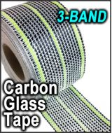 Carbon Glass Tape 3-BAND
