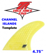 "Glass On - True Ames 4.75"" CI Tr Fin Set"