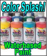 Color Splash Water based Paint QUART