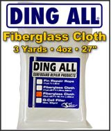 Ding All 4oz. Fiberglass Cloth Pack - 3 yard Pack