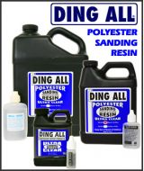 Ding All  Silmar Polyester Resin SANDING 250A