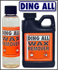 Ding All Wax Remover