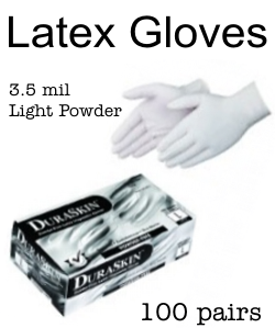 DuraSkin Latex Exam Gloves