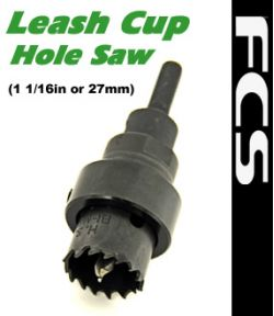 FCS Leash Cup Hole Saw