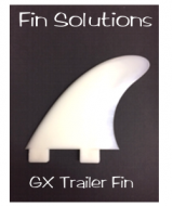 Fin Solutions GX Trailer w/FCS Twin Tab Base