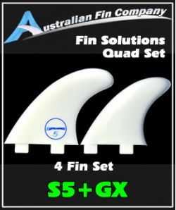 Fin Solutions S5 + GX Quad Fin Set