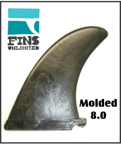 Fins Unlimited Molded 8 inch Standard