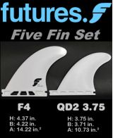 Futures F4 Five Fin Set