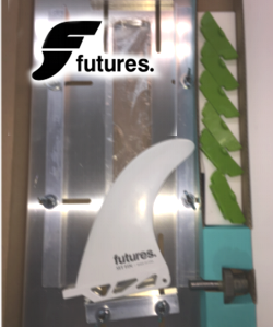 "Futures ""One Shot"" LONGBOARD Fin Box Installation Tools"