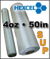 Hexcel Fiberglass SUP Cloth  - 4oz x 50 Wide