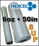 Fiberglass Cloth SUP Hexcel - 6oz x 50 Wide