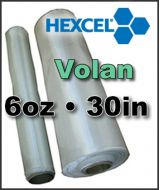 Hexcel Fiberglass Cloth  VOLAN - 6oz x 30inch Wide