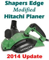 CF PLANE - Shapers Edge Modified Hitachi Planer P20ST