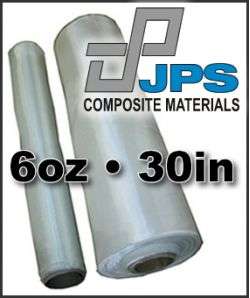 JPS Fiberglass Cloth  - 6oz x 30in Wide