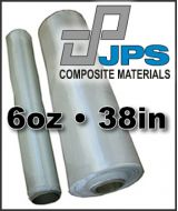 JPS Fiberglass Cloth  - 6oz x 38in Wide