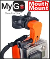 """""MyGo 'Mouth Mount for GoPro®"