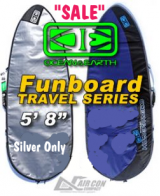Ocean & Earth AirCon Travel Series - FunBoard Surfboard Board Bags