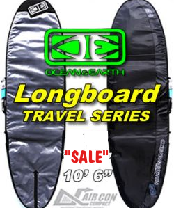 Ocean & Earth Air Con Travel Series - Longboard travel Bag