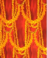 Hawaiian Surfboard Fabric Inlay - Orange BB