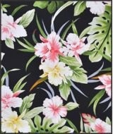 Hawaiian Surfboard Fabric Inlay - PINK FF