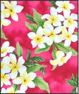 Hawaiian Surfboard Fabric Inlay - Pink EE
