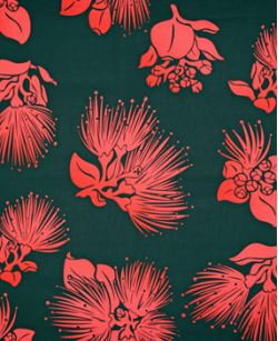 Hawaiian Fabric Inlay - Pink (BB)