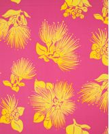 Hawaiian Surfboard Fabric Inlay - Pink CC