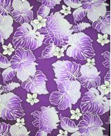 Hawaiian Surfboard Fabric Inlay - Purple BB