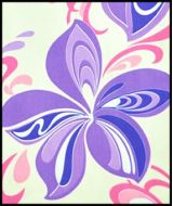 Hawaiian Surfboard Fabric Inlay - PURPLE DD