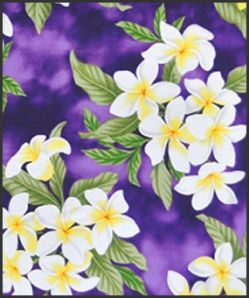 Hawaiian Surfboard Fabric Inlay - Purple CC