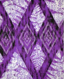 Hawaiian Fabric Inlay - Purple (AA)