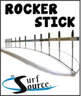 Surfboard Rocker Stick