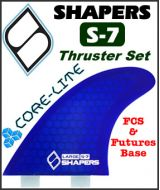 Shapers Core Lite S-7 Thruster Set