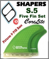 Shapers CoreLite S5 - Five Fin Set