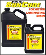 Sun Cure  Silmar Polyester Resin  LAMINATING 249A