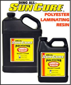 SunCure UV curable polyester laminating resin