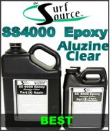 SS4000 Aluzine Clear Epoxy Resin and Hardener