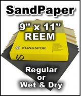 Klingspor Sand Paper 9 x 11 - By the REEM