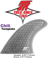 Glass On - True Ames Chili Tri fin Set