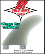 True Ames Finger Fin Trailer Fin FCS