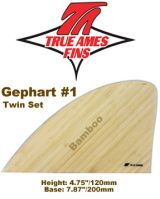 Glass On - True Ames Twin Fin Set Gephart 1 Wood
