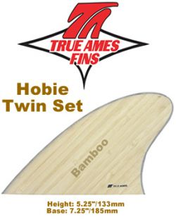 Glass On - True Ames Twin Set Hobie Fish Bamboo