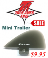 True Ames - Mini Trailer Fin FCS Base